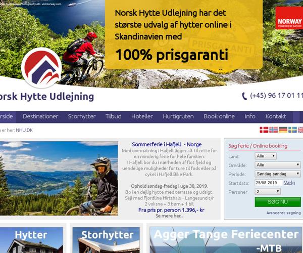 Norsk Hytte Udlejning
